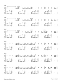 What About Us-P!nk Numbered Musical Notation Preview 3