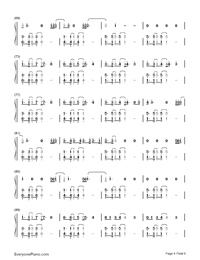 What About Us-P!nk Numbered Musical Notation Preview 4