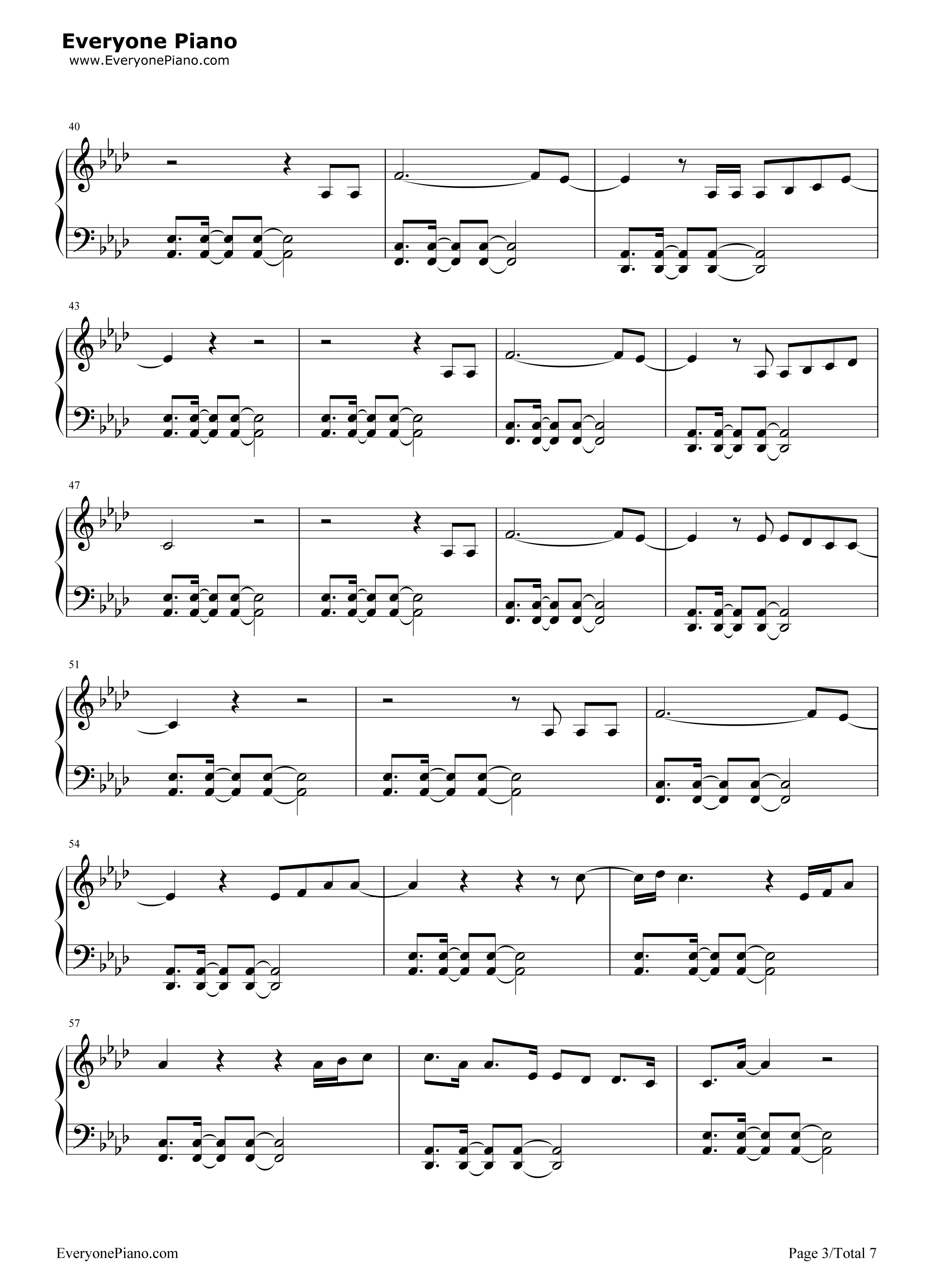 What about us pnk stave preview 3 free piano sheet music piano listen now print sheet what about us pnk stave preview 3 hexwebz Gallery
