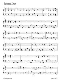Skrt On Me-Calvin Harris ft Nicki Minaj五線譜預覽6