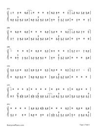 Sobredosis-Romeo Santos and Ozuna-Numbered-Musical-Notation-Preview-2