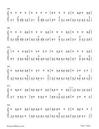 Sobredosis-Romeo Santos and Ozuna-Numbered-Musical-Notation-Preview-3
