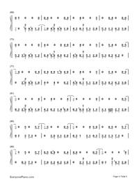 Sobredosis-Romeo Santos and Ozuna-Numbered-Musical-Notation-Preview-4
