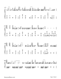 Location-Khalid Numbered Musical Notation Preview 2