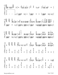 Location-Khalid Numbered Musical Notation Preview 3
