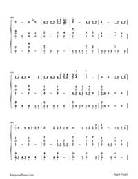 Beautiful-Numbered-Musical-Notation-Preview-5