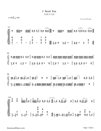 By Photo Congress || Bts Piano Sheet Music Easy Letters