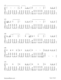 Perfect-Ed Sheeran-Numbered-Musical-Notation-Preview-2