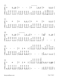 Perfect-Ed Sheeran-Numbered-Musical-Notation-Preview-3
