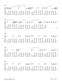 Perfect-Ed Sheeran-Numbered-Musical-Notation-Preview-5