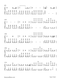 Perfect-Ed Sheeran-Numbered-Musical-Notation-Preview-6