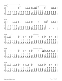 Perfect-Ed Sheeran-Numbered-Musical-Notation-Preview-7