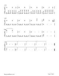 Perfect-Ed Sheeran-Numbered-Musical-Notation-Preview-8