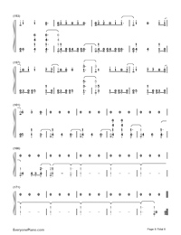 Thunder-Imagine Dragons-Numbered-Musical-Notation-Preview-8