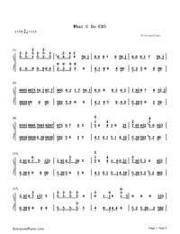What U Do-EXO-Numbered-Musical-Notation-Preview-1