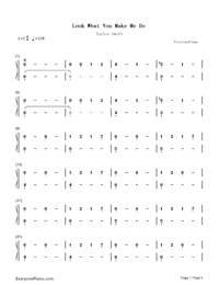 Look What You Made Me Do-Taylor Swift-Numbered-Musical-Notation-Preview-1