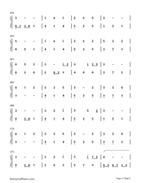 Unaging Dream-Yin Lin-Numbered-Musical-Notation-Preview-3