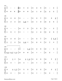 Unaging Dream-Yin Lin-Numbered-Musical-Notation-Preview-4