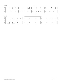 Unaging Dream-Yin Lin-Numbered-Musical-Notation-Preview-5