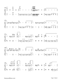 Autumn Leaves-Joseph Kosma-Numbered-Musical-Notation-Preview-3
