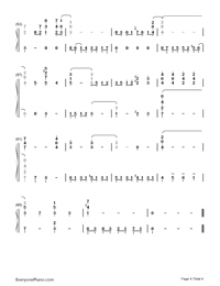 Autumn Leaves-Joseph Kosma-Numbered-Musical-Notation-Preview-4