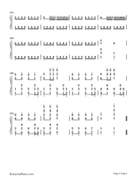 Jingle Bells-James Lord Pierpont-Numbered-Musical-Notation-Preview-3