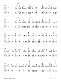 Bibia Be Ye Ye-Ed Sheeran-Numbered-Musical-Notation-Preview-2
