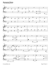 Havana-Camila Cabello五線譜預覽10