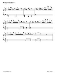 FAIRY TAIL メインテーマ-FAIRY TAILOST五線譜プレビュー3