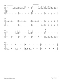 So Long My Friend-Yanni-Numbered-Musical-Notation-Preview-3