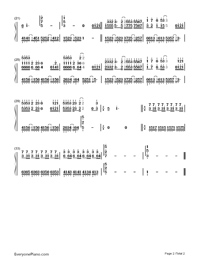 Forever Love-Hebe Tien-Numbered-Musical-Notation-Preview-2