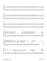 Between Worlds-Roger Subirana-Numbered-Musical-Notation-Preview-2