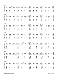 What Do I Know-Ed Sheeran-Numbered-Musical-Notation-Preview-2