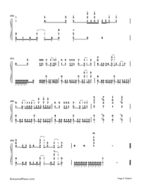 First Storm-Hatsune Miku-Numbered-Musical-Notation-Preview-8