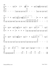 You Are the Stars of the Sea-Wei Chen-Numbered-Musical-Notation-Preview-4