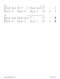 一程山路-毛不易雙手簡譜預覽2