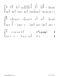 The Music on Jay Chou' Wedding-Numbered-Musical-Notation-Preview-2