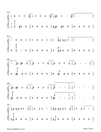 Too Good at Goodbyes-Sam Smith Numbered Musical Notation Preview 4