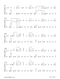Too Good at Goodbyes-Sam Smith Numbered Musical Notation Preview 6