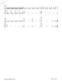 恋をしたのは-聲の形主题曲両手略譜プレビュー4