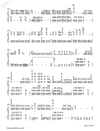 Impossible Dream-Joe Hisaishi-Numbered-Musical-Notation-Preview-3