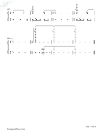 Impossible Dream-Joe Hisaishi-Numbered-Musical-Notation-Preview-4