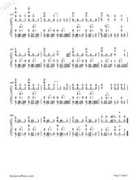 だから僕は僕を手放す-サクラダリセットOP2両手略譜プレビュー3