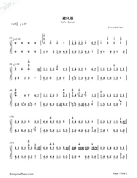 Safe Haven-Fiona Fung-Numbered-Musical-Notation-Preview-1