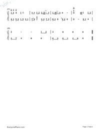 Safe Haven-Fiona Fung Numbered Musical Notation Preview 2