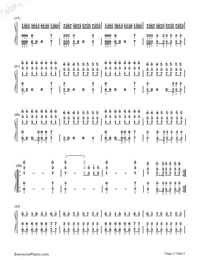 Still D.R.E.-Dr. Dre-Numbered-Musical-Notation-Preview-2