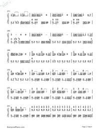 Wedding Rhapsody Numbered Musical Notation Preview 2
