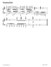 "Les Fulgrancea Du Coeur ""Liszt Melodie""-リストのメロデイー五線譜プレビュー5"