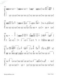 People Come and Go-Eason Chan-Numbered-Musical-Notation-Preview-2
