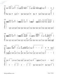 People Come and Go-Eason Chan-Numbered-Musical-Notation-Preview-3